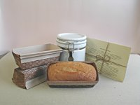 Modified Amish Friendship Bread Recipe, Starter,  Crock and paper bakers