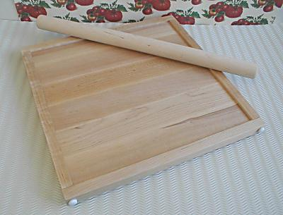 Pastry board - perfect thickness adjustable pastry board